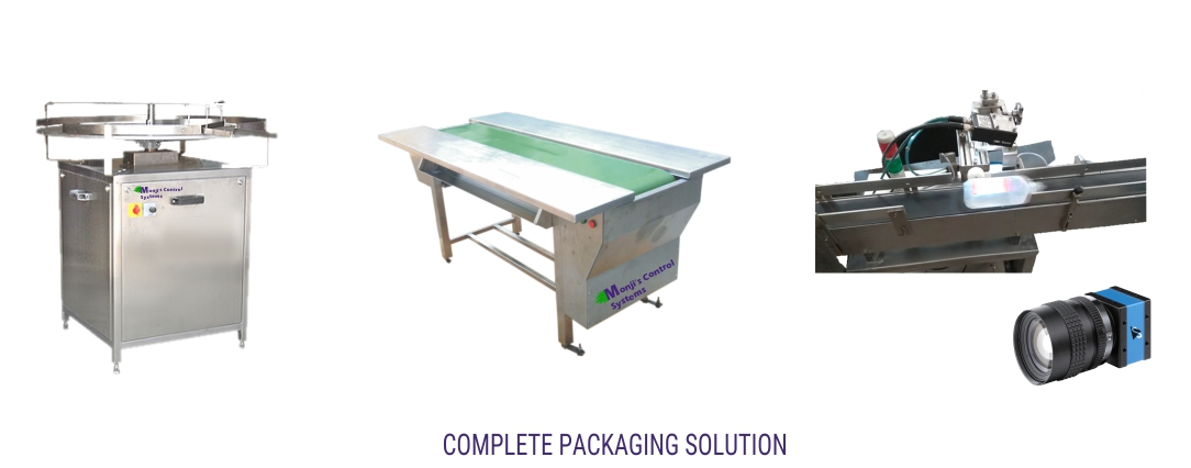 All types of packaging Machines